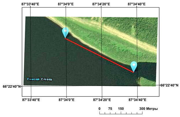 Visualizing And Processing Side-Scan Sonar Images: a Case of the Lower Reaches of the Enisei River