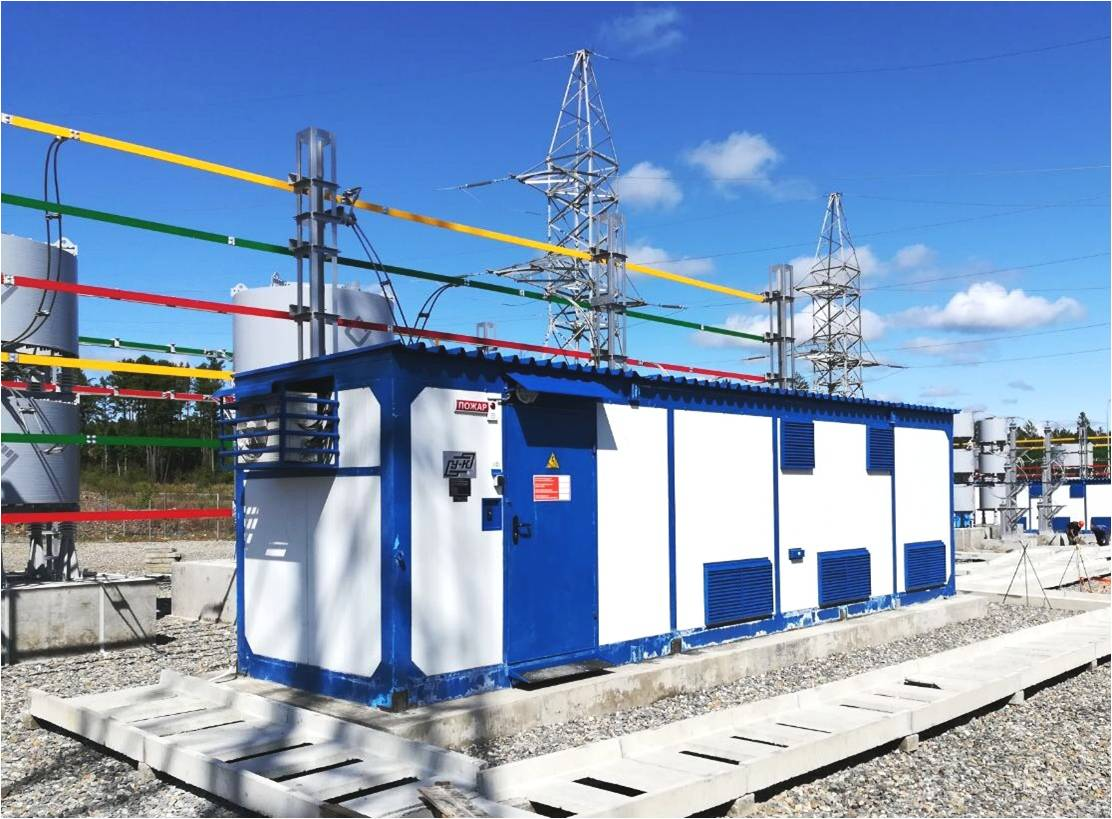 Energy platforms using digital modular substations and power units for Arctic